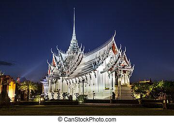 Ancient City or Ancient Siam, Samutparkan, Thailand. -...