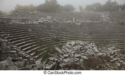Ancient city Termessos at Turkey
