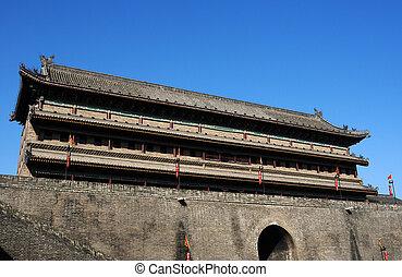 Ancient city wall of Xian, China