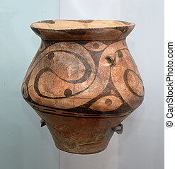 Ancient clay jug
