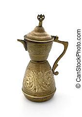 Ancient coffee pot
