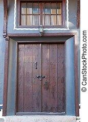 ancient doors and window