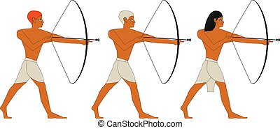 Ancient Egypt archers