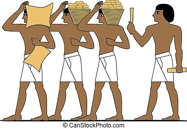 Ancient Egypt builders