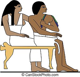 Ancient Egypt family