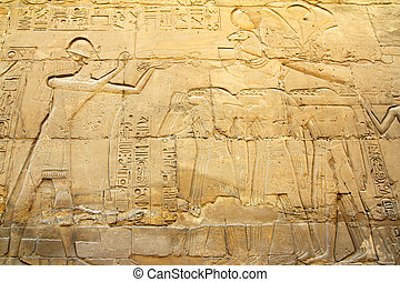 ancient egypt images in Karnak temple