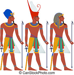 Ancient Egypt Pharaoh Pack For Passover - Vector...