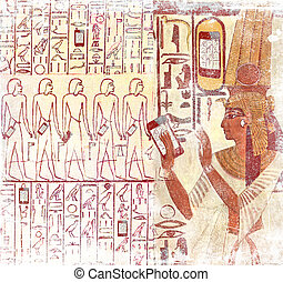 Ancient Egypt smart phones - Ancient Egypt wireless: Queen...