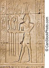 Ancient Egyptian priest for Hapi go