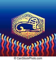 ancient Egyptian sphinx