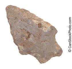 Ancient Flint Arrow Head - One ancient flint carved arrow ...