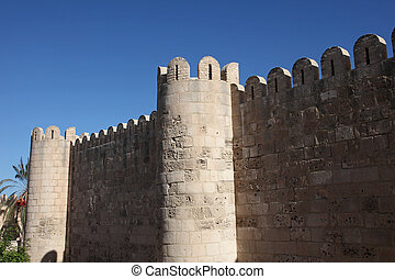 Ancient fort in Sousse Tunisia