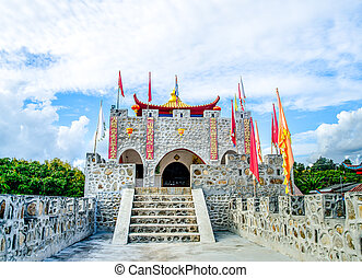 Ancient fort of chinese style