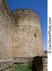 Ancient fortress in the Belgorod-Dniester city, Ukraine