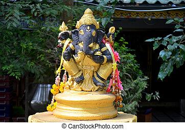 Ancient Ganesha or Ganesh figure : Lord of Success