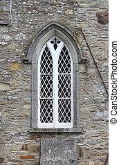 Ancient gothic windows