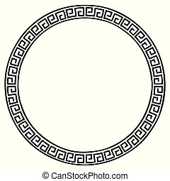 Ancient Greek frame.