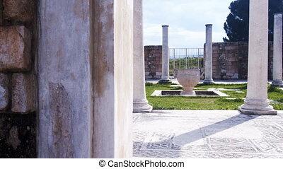Ancient Greek Lydian City Sardes in Turkey