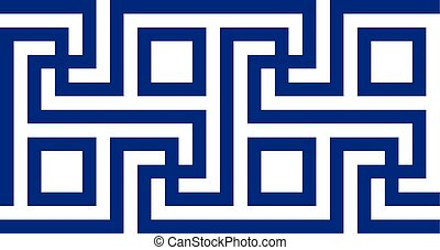 Ancient Greek motif. Vector illustration Eps 10