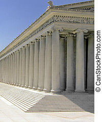 Parthenon - Ancient Greek Parthenon temple on the Acropolis