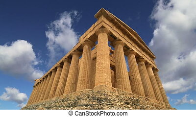 Ancient Greek temple of Concordia