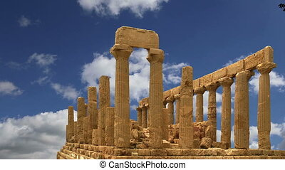 Ancient Greek Temple of Juno (V-VI century BC), Valley of...