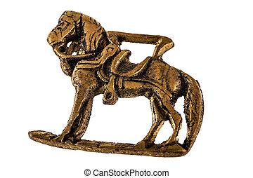 Ancient horse sculpture