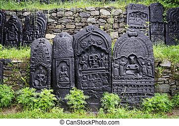 Ancient indian god of art