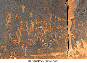 Ancient Indian Petroglyph Rock Art