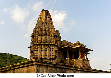 Ancient indian temple  in Rajasthan