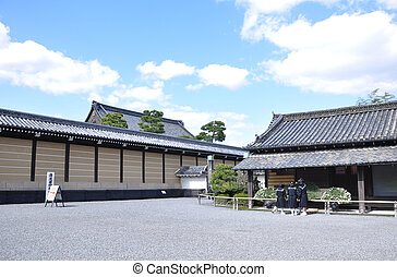 Ancient japanese architecture, Kyoto, Japan