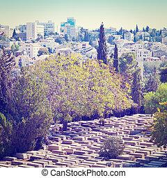 Cemetery in Jerusalem