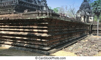 Ancient Khmer temple, 11th century, Baphuon Temple in Siem...