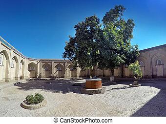 ancient madrasah. Uzbekistan. Khiva.