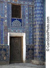 ancient madrassa in uzbekistan