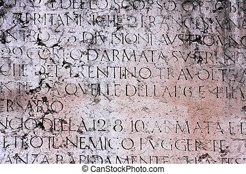 ancient, manuskrift