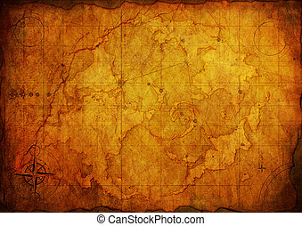 Ancient map. Old Paper Texture