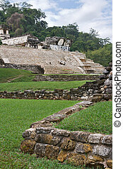 Ancient Mayan ruins in Palenke