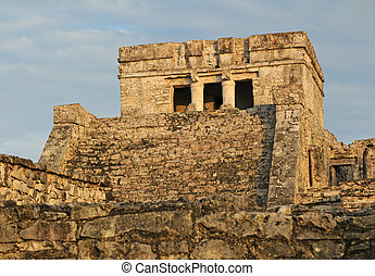 Ancient Mayan Temple for Ceremonies