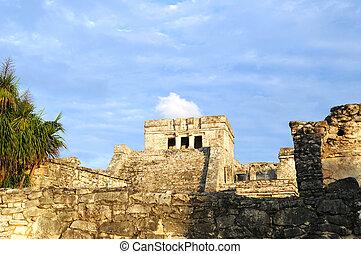 Ancient Mayan Temple