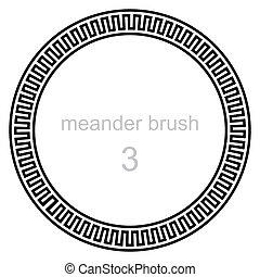 ancient meander pattern