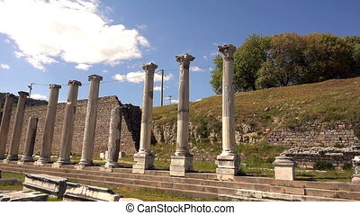 Ancient Medical Center Asklepion in Bergama Turkey