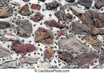 Ancient Mexican Stone Wall