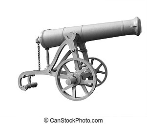 Ancient military cannon