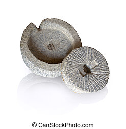 Ancient millstone