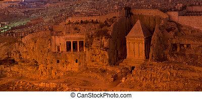 Ancient monument in jerusalem