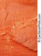 Ancient Navajo Petroglyphs