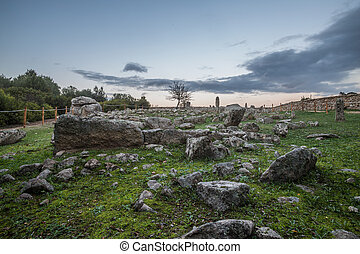Ancient necropolis of Li Muri - Arzachena Sardinia
