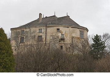 Olesko castle museum in Ukraine