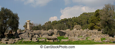 Ancient Olympia Greece - Ancient Olympia the cradle of the ...